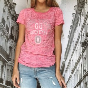 Tops - Ohio State Pink T-Shirt